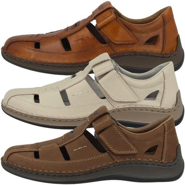 Rieker zapatos Men señores Slipper ocio anti estrés zapato bajo cortos 05284