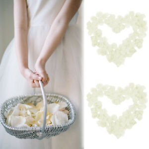 100-Wedding-Silk-Rose-Petals-Bridal-Flowergirl-Basket-Fake-Decoratio-Flower-M2P7