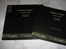 GERARD MANSET 33 TOURS FRANCE LA MORT D'ORION