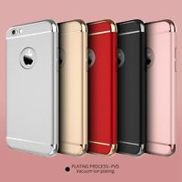 3-in-1 Ulrta Thin Dual Layer Shockproof Back Case Cover For Apple iPhone Models