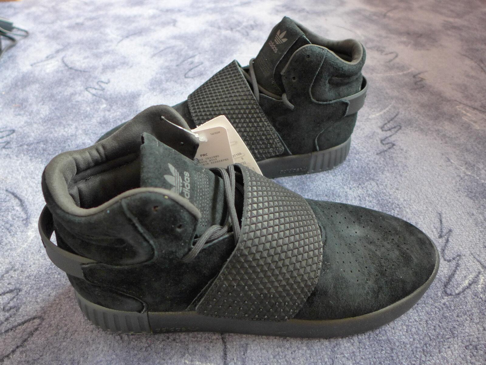 Descuento por tiempo limitado ADIDAS ORIGINALS Tubular Invader Strap Sneaker (BB1169) Wildleder 43 1/3 NEU!