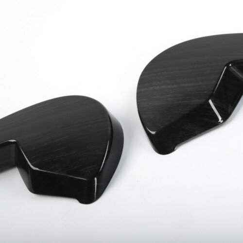 Inner Car Seat Adjustment Cover Trim For Ford F150 F-150 15-17 Black Wood Grain