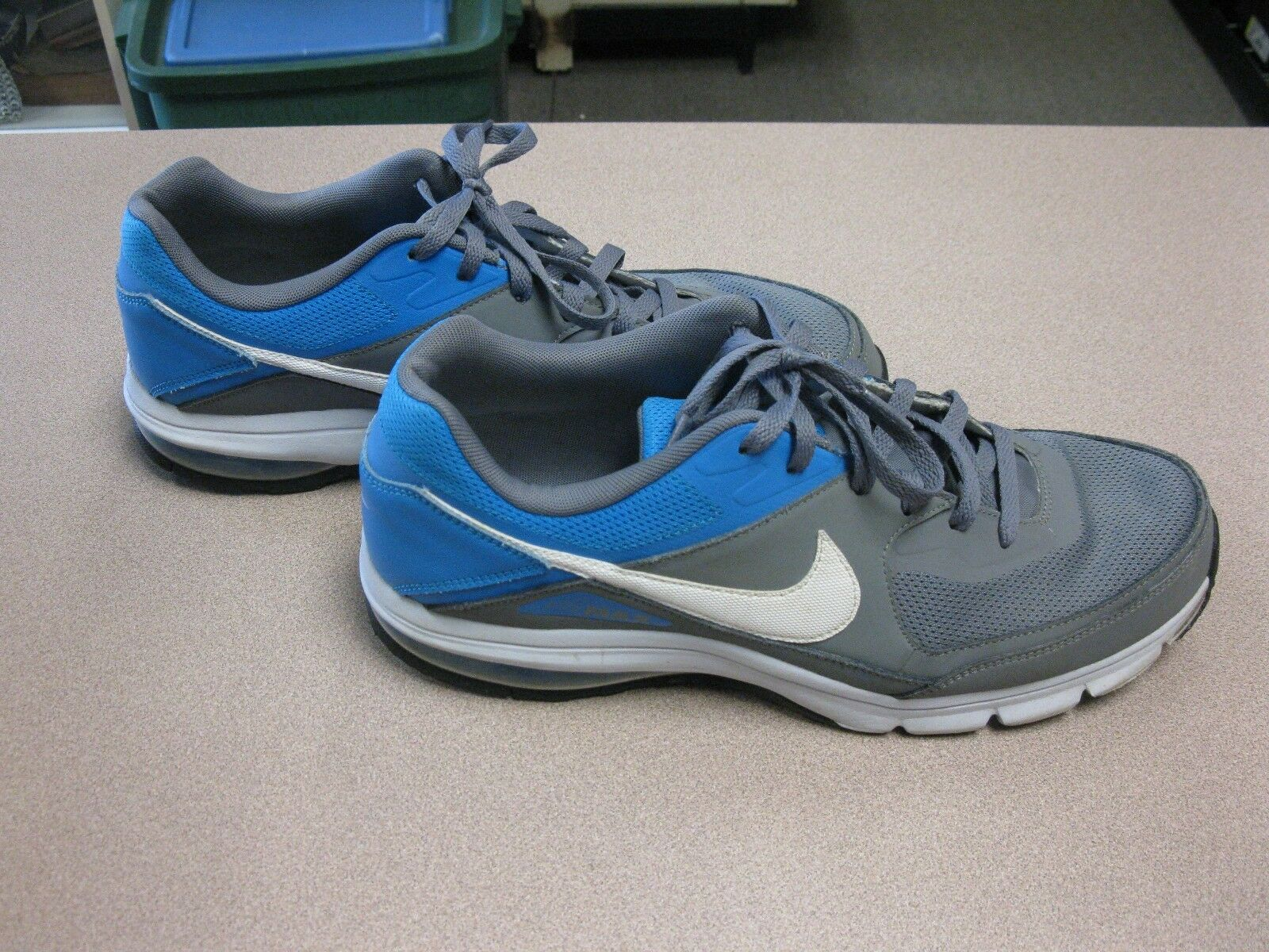 Nike Air Max size 13 blue and gray, 610639-014
