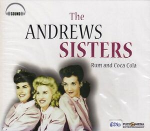 The-Andrews-sisters-CD-rhum-and-coca-cola-superbe-album-avec-16-forte-chansons