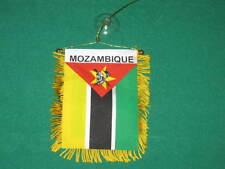 "MOZAMBIQUE FLAG MINI BANNER 4""x6"" CAR WINDOW MIRROR NEW"
