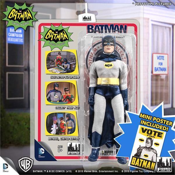 Sealed Case Toycade EXCLUSIVE Vote For Batman 1966 TV 66 Mayor 2015