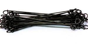 """4"""" Double Loop Rebar Wire Tie, 16ga Black Annealed, 5000 per bag, 16BA4"""