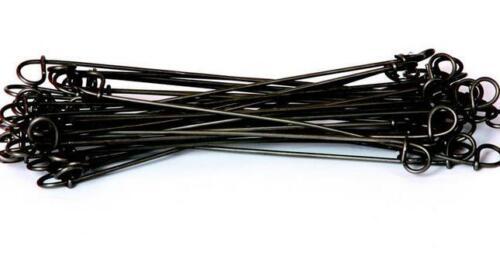 """16ga Black Annealed 16BA4 4/"""" Double Loop Rebar Wire Tie 5000 per bag"""