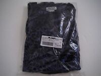 Womens 10 Anthony Richards Navy Blue Burnout Velour Lounge Pant Set Suit