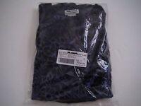 Womens 10 Anthony Richards Navy Blue Burnout Velour Lounge Pant Set Suit