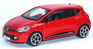 2012-Renault-Clio-Sammlermodell-rot-ca-1-43-9-5-cm-Neuware-von-BBURAGO