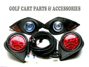 Yamaha G29 Drive Golf Cart 2007 Up Halogen Headlight Kit
