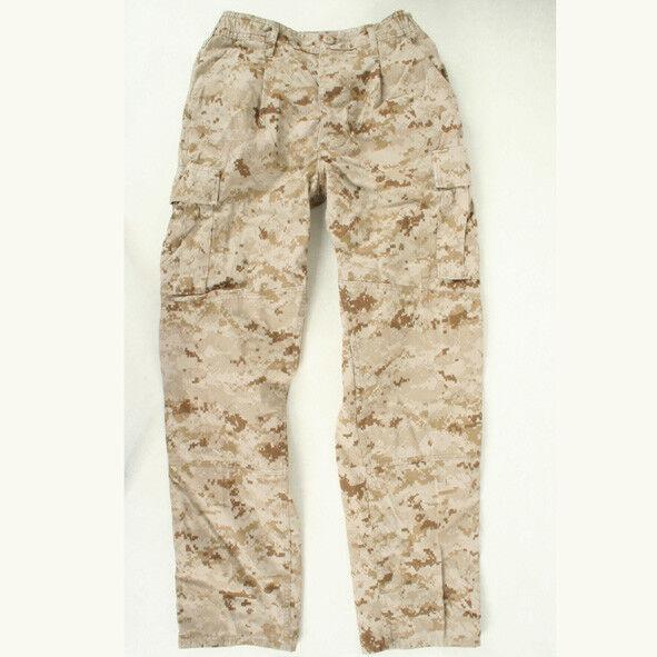 USMC Desert Marpat utilities used MCCUU Medium X-Short trousers pants cammies MS
