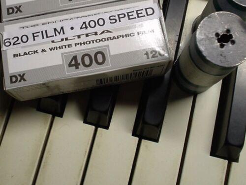 620 FILM B/&W 400 speed film 1 ROLL FRESH FOR KODAK BROWNIE OR OTHERS! FREE SHIP