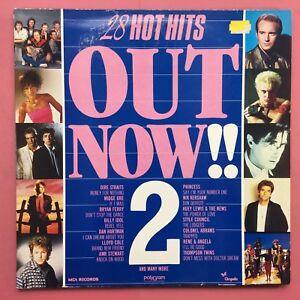 Fuori-Now-2-28-Caldo-Hits-Chrysalis-OUTV-2-Ex-Condizioni-Doppio-LP-1985