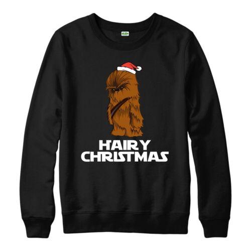 Star Wars Christmas Jumper Chewbacca Xmas Festive Gift Adults /& Kids Jumper Top