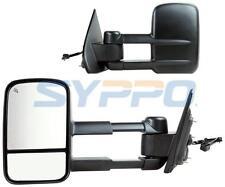 For 2014-2017 Silverado Sierra 1500 Power+Heated Telescoping Towing Side Mirrors