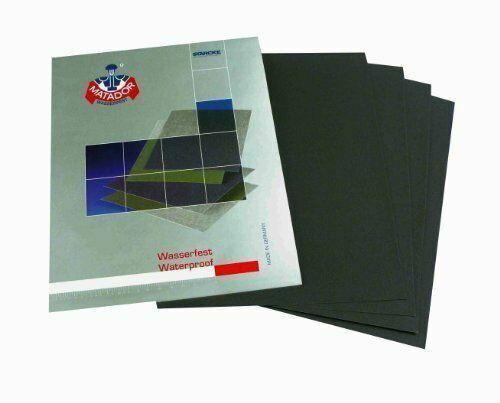 Húmedo y Seco Papel de Lija Grano 7000 5 hojas de papel de 230 X 280mm a prueba de agua mayor qua