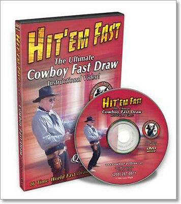 Hit'Em Fast: The Ultimate Cowboy Fast Draw Instructional (DVD) /pistols/shooting