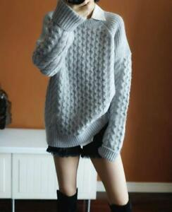 Image is loading Womens-Designer-Inspired-Luxury-Jumper-Pullover-Cashmere- Knitwear- 6ee273d7f7a4