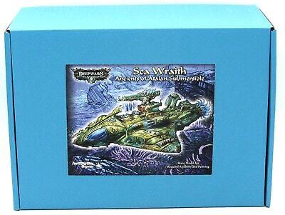DeepWars DW3022 Sea Wraith (Ancients of Atalán) Submersible Submarine  Miniature | eBay
