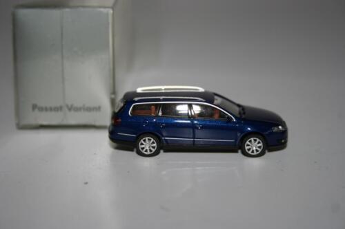 Wiking 1:87: volkswagen VW Passat Variant b6 azul-metalizado embalaje original