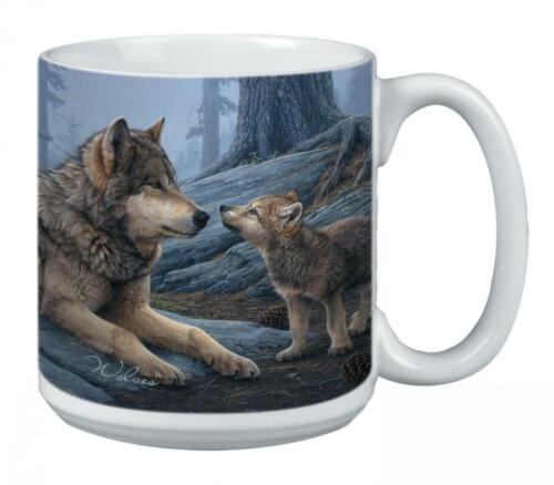 Wolf... Wolf Brothers Extra Large Mug 20-Ounce Jumbo Ceramic Coffee Cup