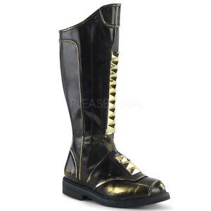knee high renaissance boots