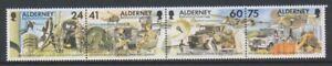 Alderney-1996-30th-Signal-Regiment-Militaer-Set-MNH-Sg-A85-8