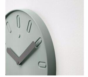 Ikea-SLIPSTEN-Wall-clock-Pale-green-803-587-74