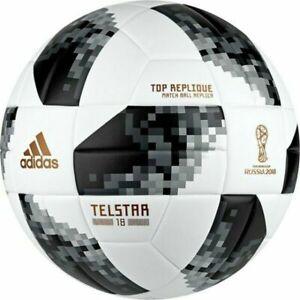 ADIDAS FIFA World Cup Match Ball Soccer Telstar 18 Russia Top Replique CE8091 4