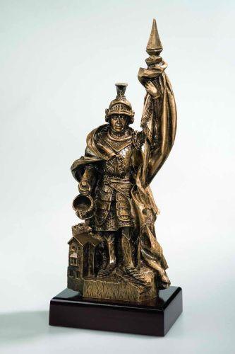 Feuerwehr Resin-Figur  St. St. St. Florian  mit persönlicher Gravur 818c36