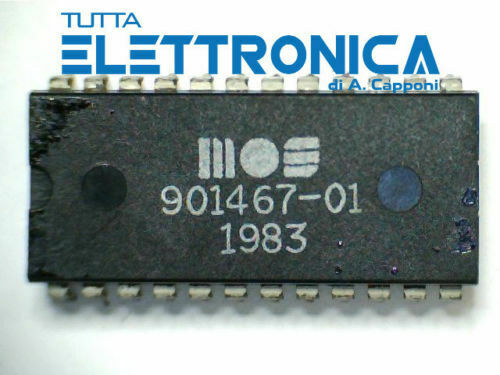IC MOS 901467-01 901467 01 ROM SFD 1001 Commodore 8050 GCR Integrated circuit