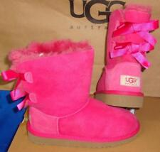 742b7442c8e UGG Australia Mismatch Toddlers Girls 7 / 6 Bailey Bow Suede BOOTS ...