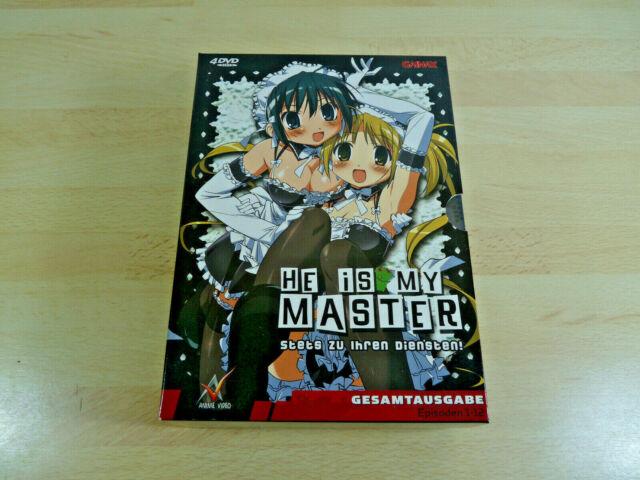 He is my Master - Stets zu Ihren Diensten (Gesamtausgabe) Ep. 1-12 / Anime DVD