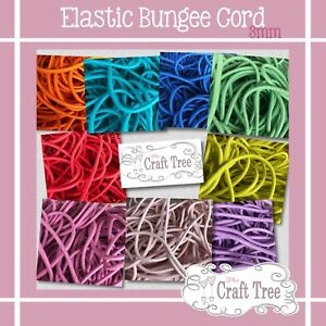Elastic Round Bungee Cord 2 & 3mm