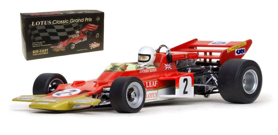 Quartzo 18271 Lotus 72C German GP 1970 World Champion - Jochen Rindt 1 18 Scale