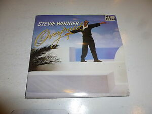 STEVIE-WONDER-Overjoyed-love-you-1985-solid-centre-4-track-7-034-vinyl-single