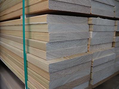 Baustoffe & Holz Ausdauernd Glattkantbretter 20x145 Mm Sibirische Lärche Fassadenbretter Fassadenholz Hindernis Entfernen