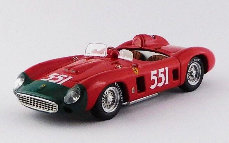 ART MODEL ART385 - Ferrari 860 Monza  551 2ème Mille Miglia - 1956   1/43