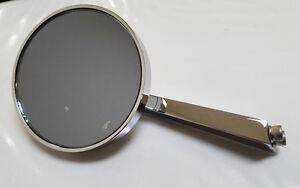3-034-Chrome-Round-Peep-Mirror-4-1-2-034-Arm-Left-Hand-UNIVERSAL-Application-Tinted