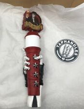 Rebel Kettle Brewing Beer Tap Signature Handle Skeleton Hand, Little Rock - Rare