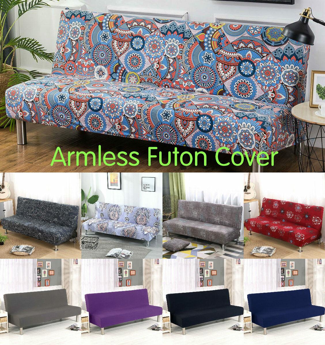 Armless Sofa Slipcover Futon Cover