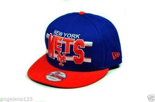 NEW ERA Men 9Fifty New York Mets Snapback Hat Cap Green Undervisor One Size Blue