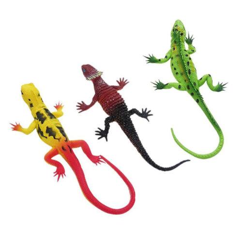 6 tipi di simulazione-piccole LUCERTOLE IN GOMMA MORBIDA-Partito Loot Bag Filler-Bambini Giocattolo