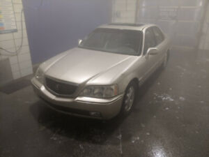 Gold Acura RL 2000 - Fully Loaded, Wood Trim, Tan Leather
