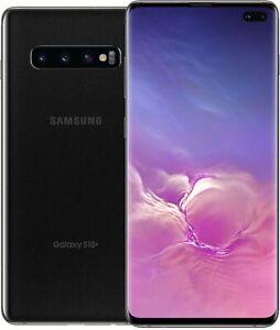 Samsung Galaxy S10+ PLUS 128GB Black Unlocked Canadian Model G975W Smartphone