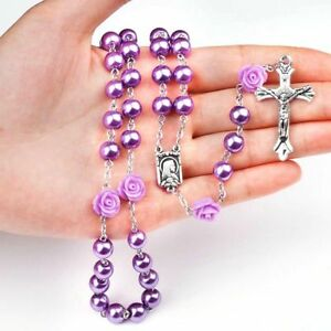 First-Holy-Communion-Rosary-Beads-Present-Bracelet-Necklace-Girls-amp-Boys-Gift-AU