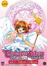 Cardcaptor Sakura (Complete TV Series Ep1-70 + 2 Movies) DVD Free Ship