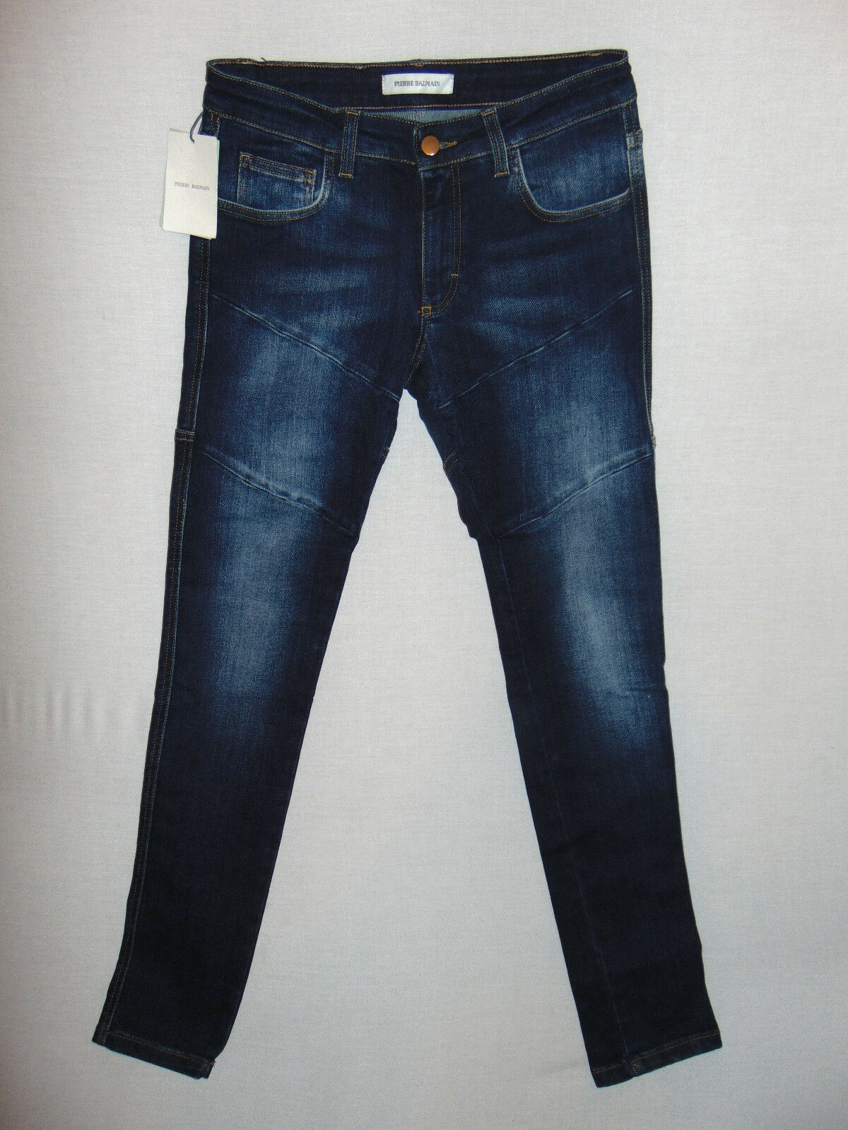Pierre Balmain Slim W30 L32 - Ladies Blau Stretch Denim Jeans - Made in